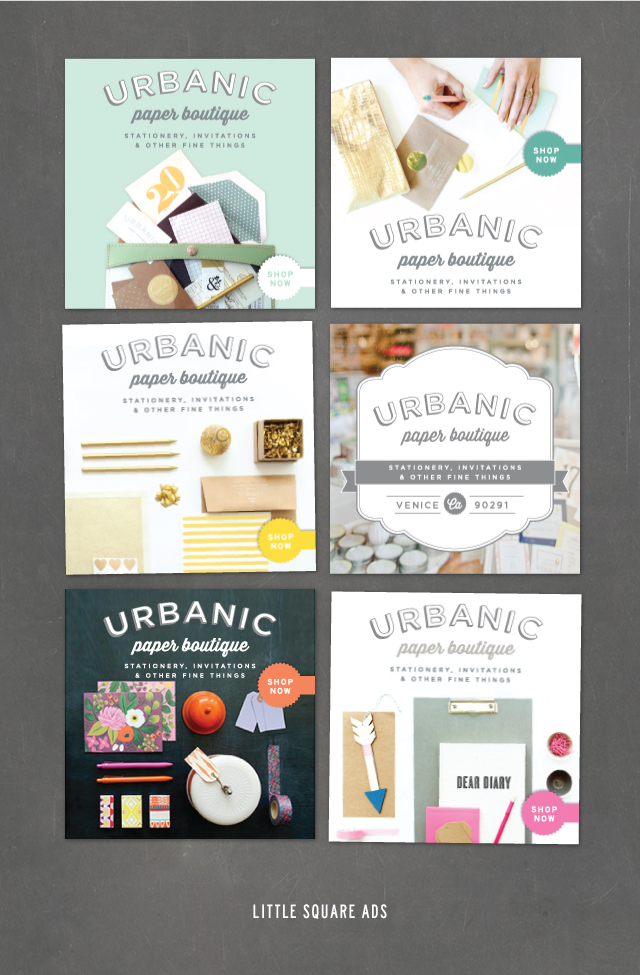 Little Square Ads | Urbanic