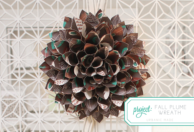 Fall Plume Wreath | DIY Project | Urbanic